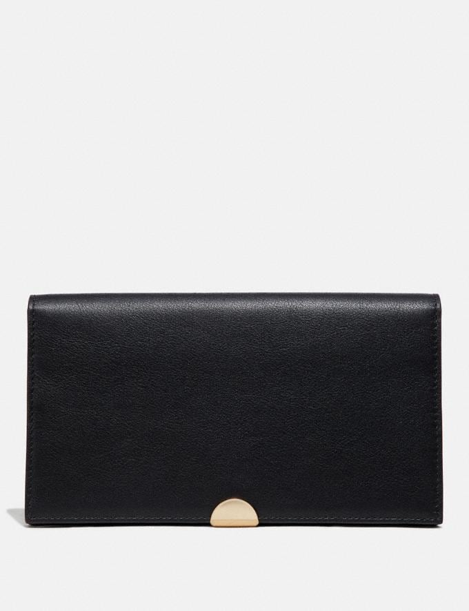 Coach Dreamer Wallet Black/Gold Women Small Leather Goods