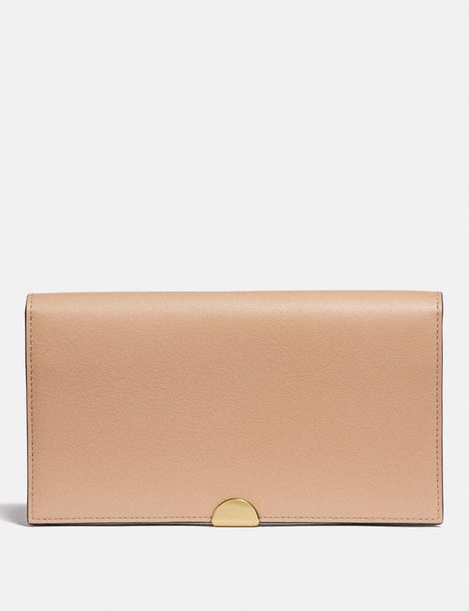Coach Dreamer Wallet Beechwood/Gold New Women's New Arrivals Wallets & Wristlets