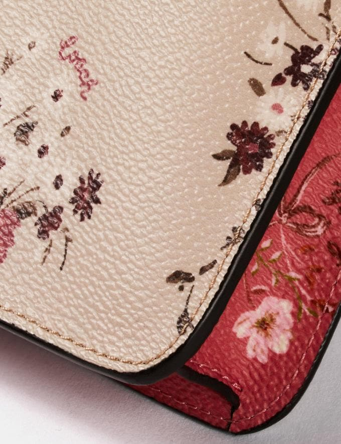 Coach Noa Pop-Up Messenger With Mixed Floral Print Multi/Gold Women Bags Crossbody Bags Alternate View 3