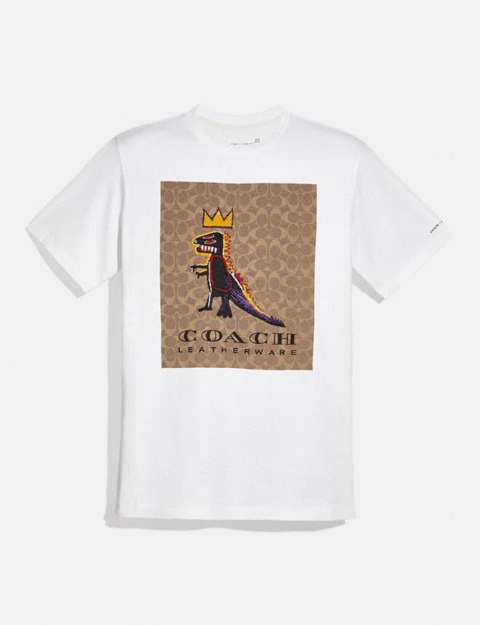 Coach Coach X Jean-Michel Basquiat T-Shirt White Men Ready-to-Wear Tops & Bottoms