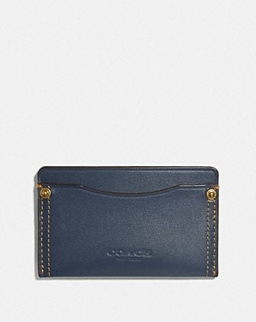 SMALL CARD CASE WITH RIVETS