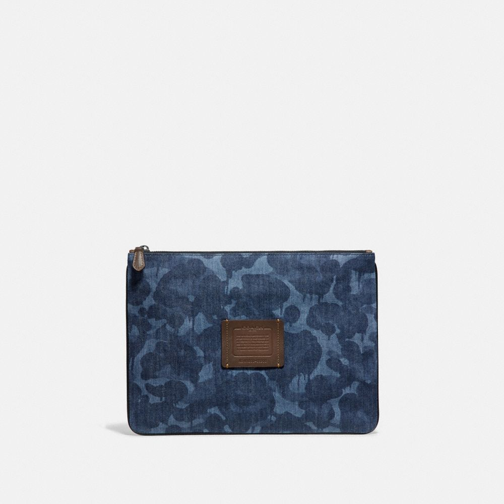 Coach Multifunctional Pouch With Wild Beast Print