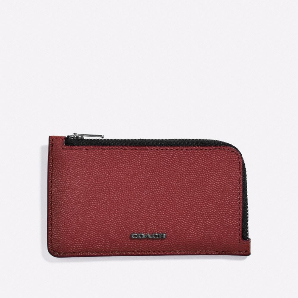 Coach L-Zip Card Case