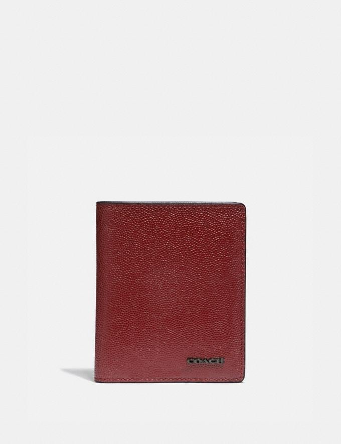 Coach Slim Wallet Red Currant Gifts For Him Valentine's Day Gifts