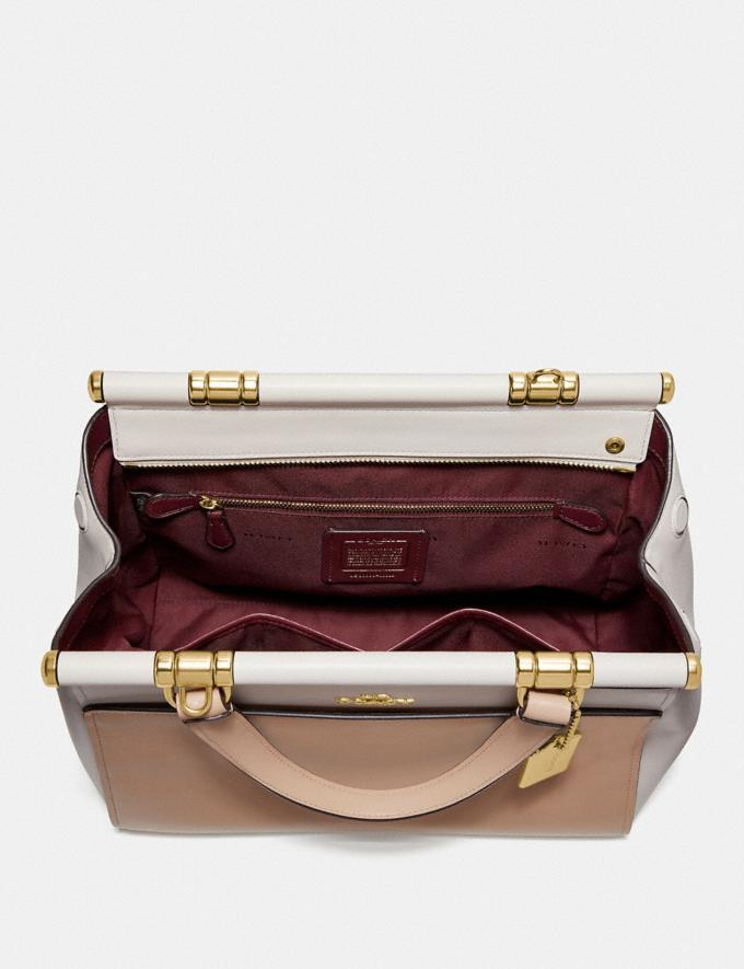 Coach Grace Bag in Colorblock Beechwood Multi/Gold Women Bags Satchels & Carryalls Alternate View 2