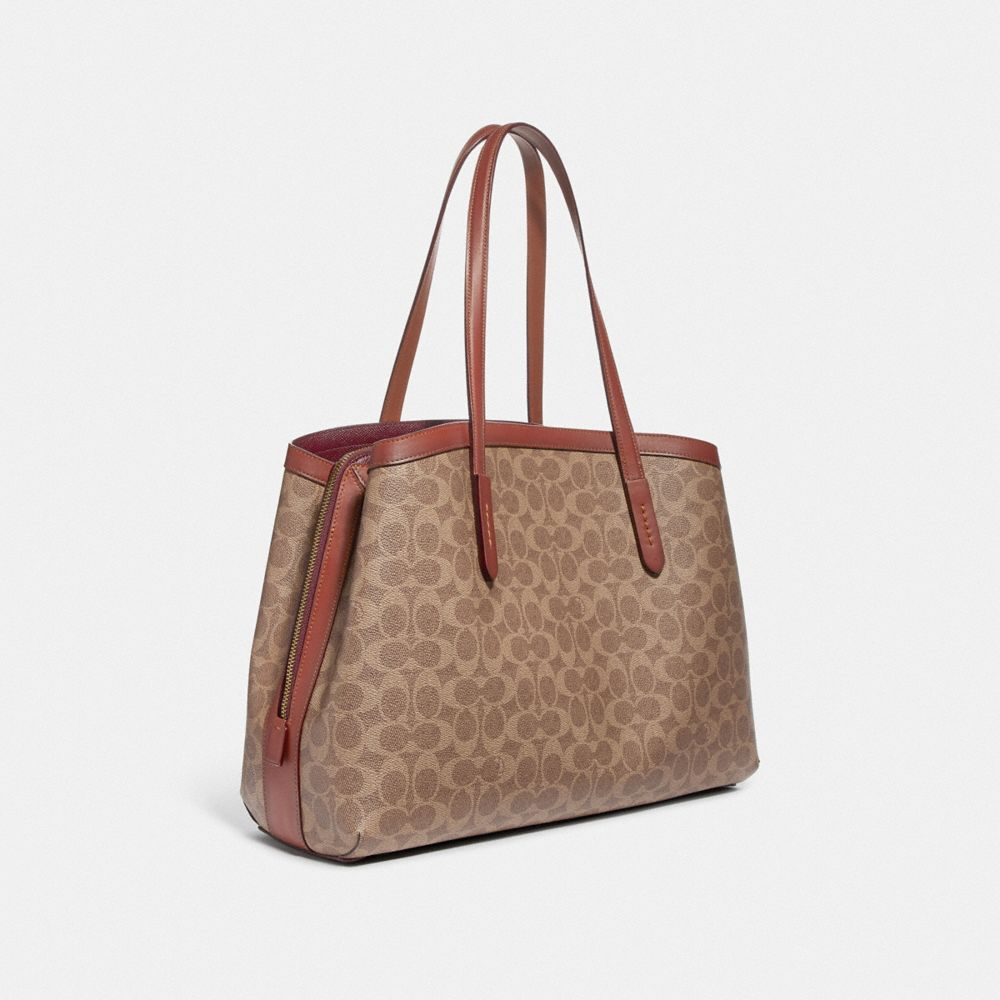 Coach Charlie Carryall 40 in Signature Canvas Alternate View 1