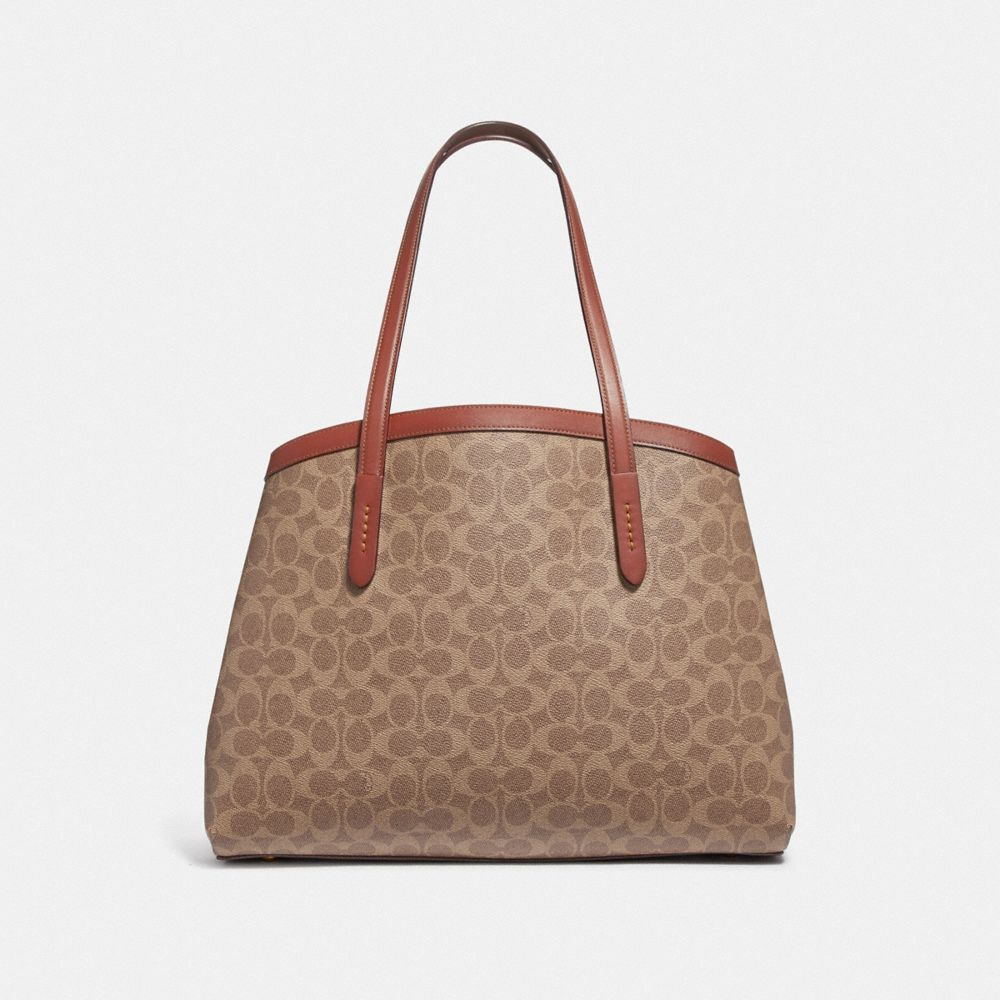 Coach Charlie Carryall 40 in Signature Canvas Alternate View 2