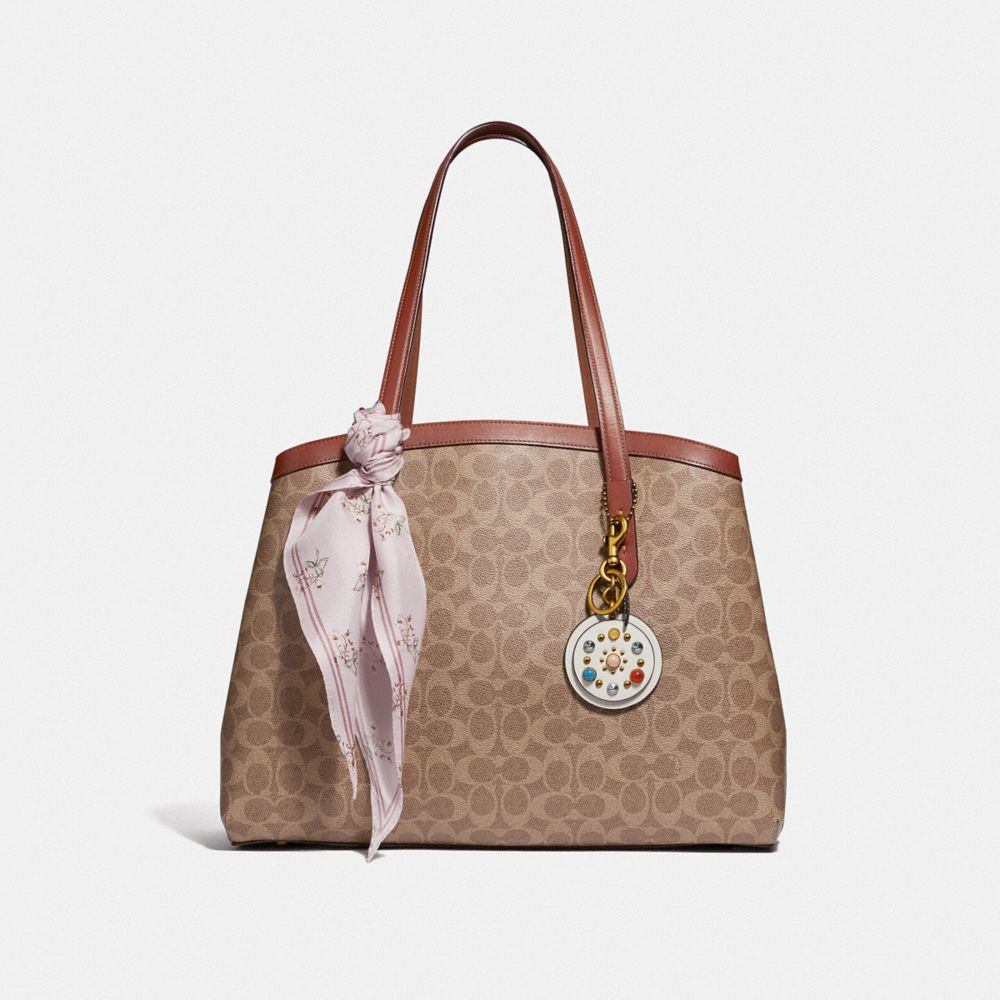 Coach Charlie Carryall 40 in Signature Canvas Alternate View 4