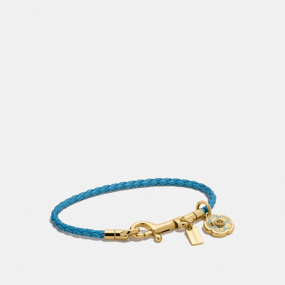 BRAIDED CHARM FRIENDSHIP BRACELET