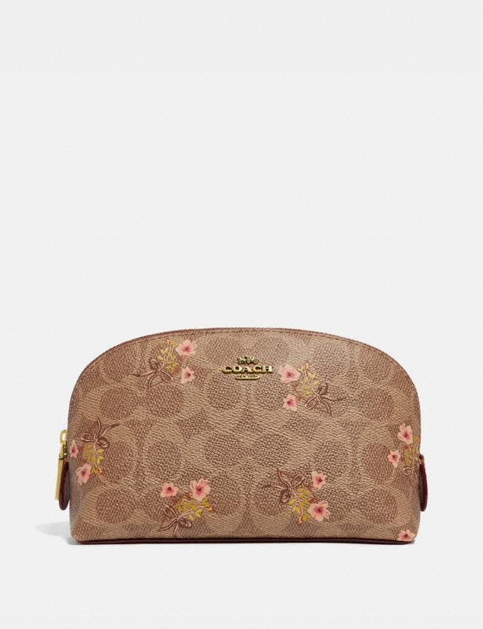 Coach Cosmetic Case 17 in Signature Canvas With Floral Print Bu Prod 4 N/A Women Accessories Cosmetic Cases