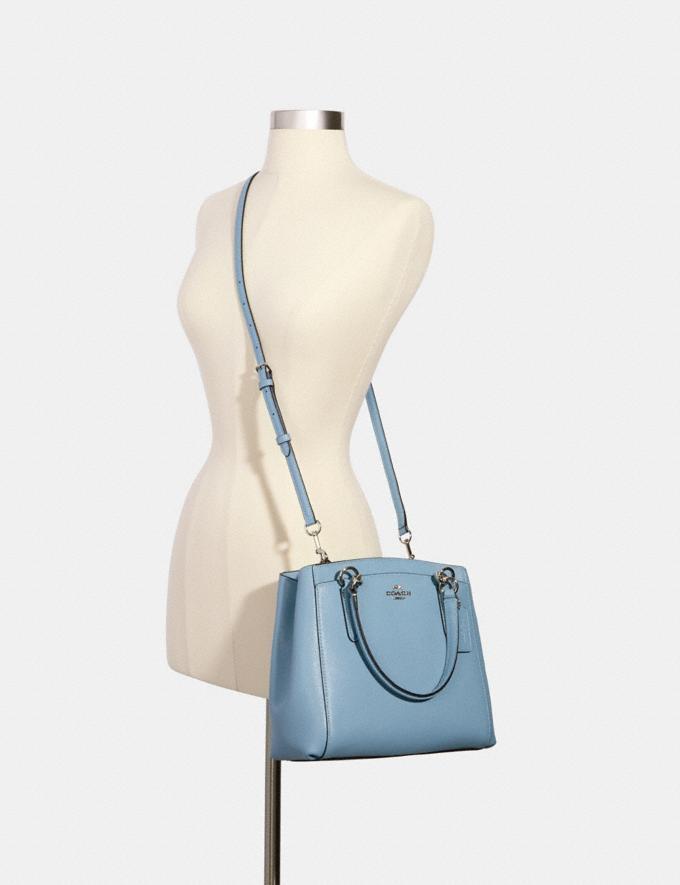 Coach Minetta Crossbody Sv/Cornflower Women Bags Alternate View 2