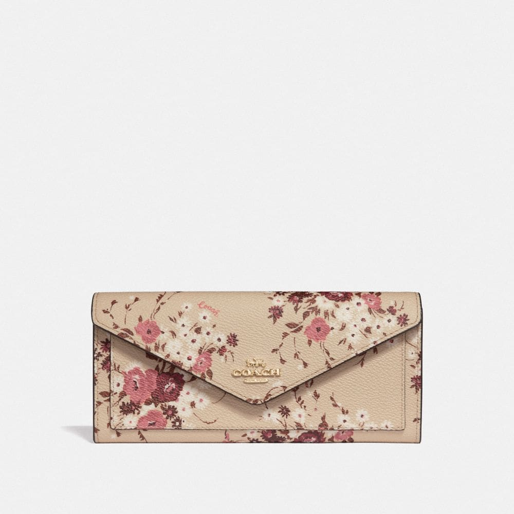 CARTERA SUAVE CON ESTAMPADO FLORAL BUNDLE