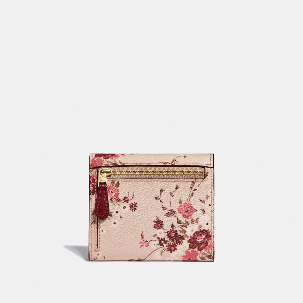 Coach Small Wallet With Floral Bundle Print Alternate View 1