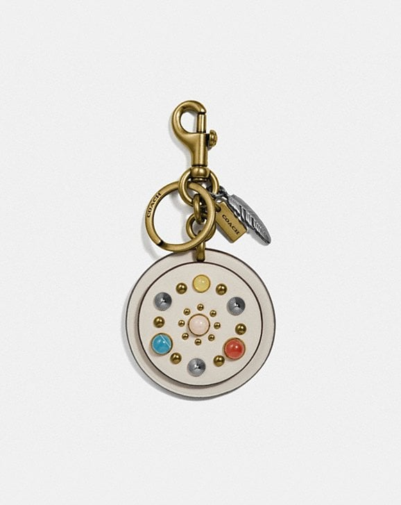 Coach CIRCLE RIVETS BAG CHARM