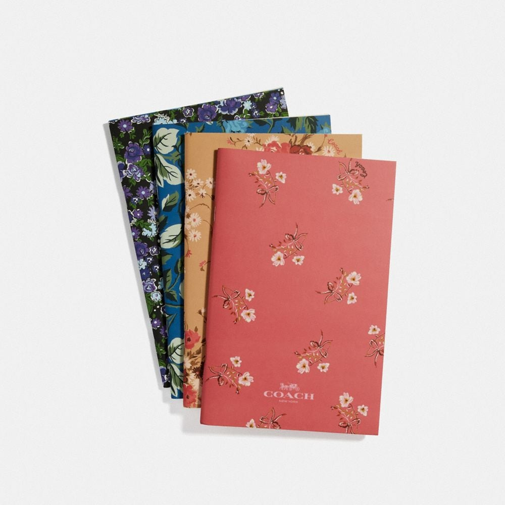 Coach Notebook Set With Floral Print
