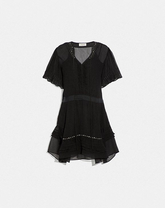 Coach TIERED DRESS