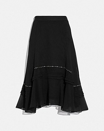 LONG EMBELLISHED SKIRT