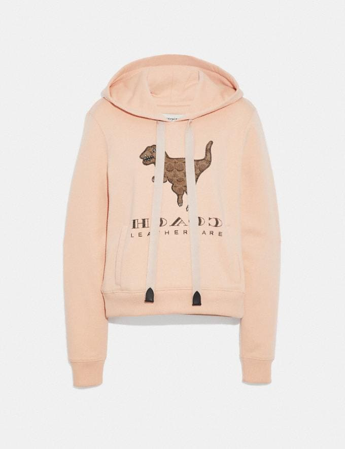 Coach Signature Rexy Sweatshirt Pink SALE Women's Sale Ready-to-Wear