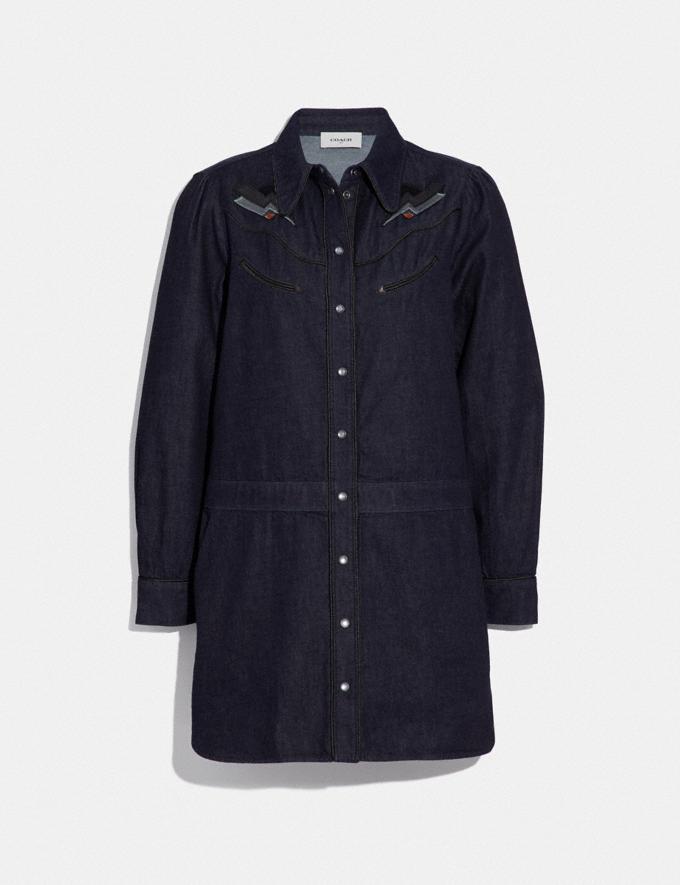 Coach Denim Dress Denim SALE Women's Sale Ready-to-Wear