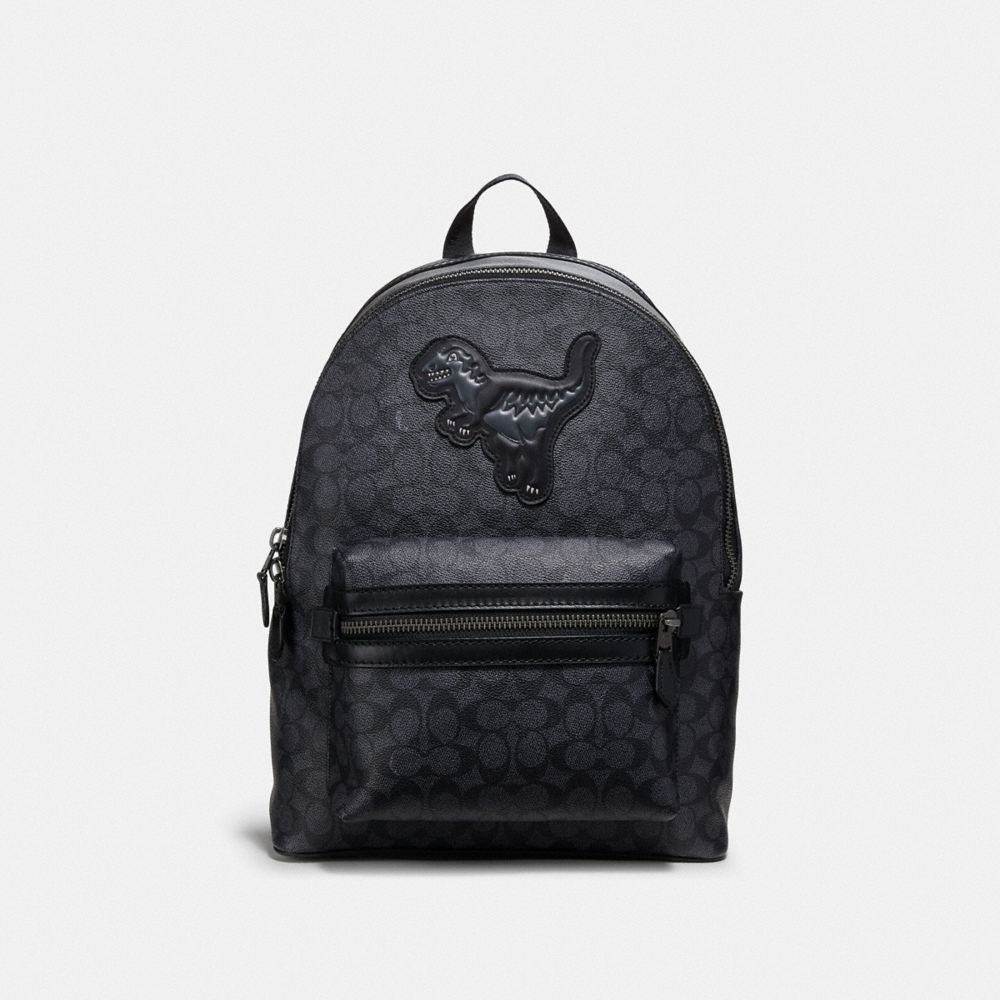 ACADEMY BACKPACK IN SIGNATURE CANVAS WITH REXY