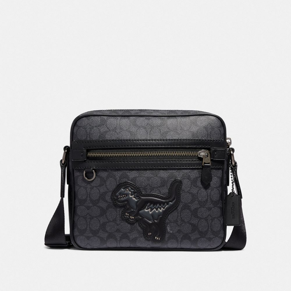 Coach Dylan 27 in Signature Canvas With Rexy