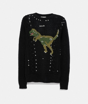 REXY CABLE KNIT SWEATER