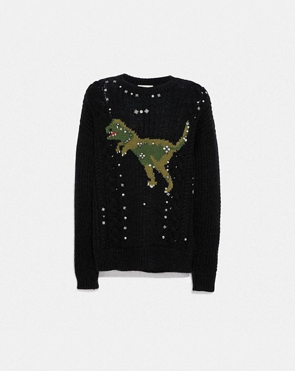 Coach REXY CABLE KNIT SWEATER