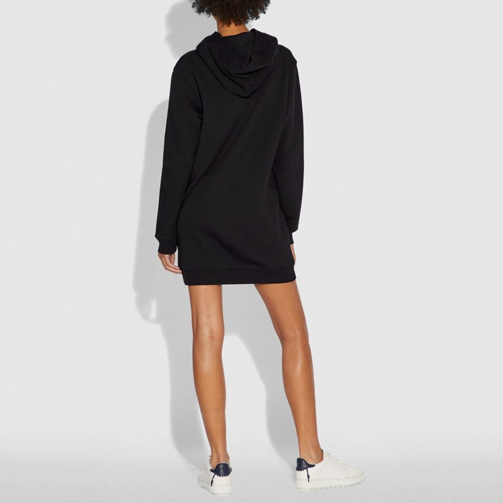 Coach MIRRORED REXY AND CARRIAGE SWEATSHIRT DRESS Alternate View 2