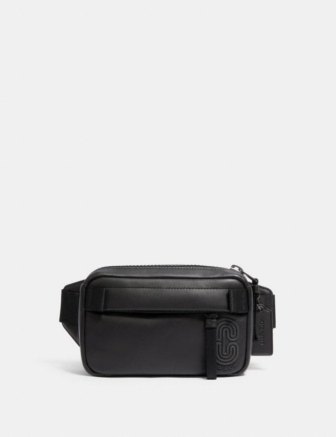 Coach Mini Edge Belt Bag Qb/Black null