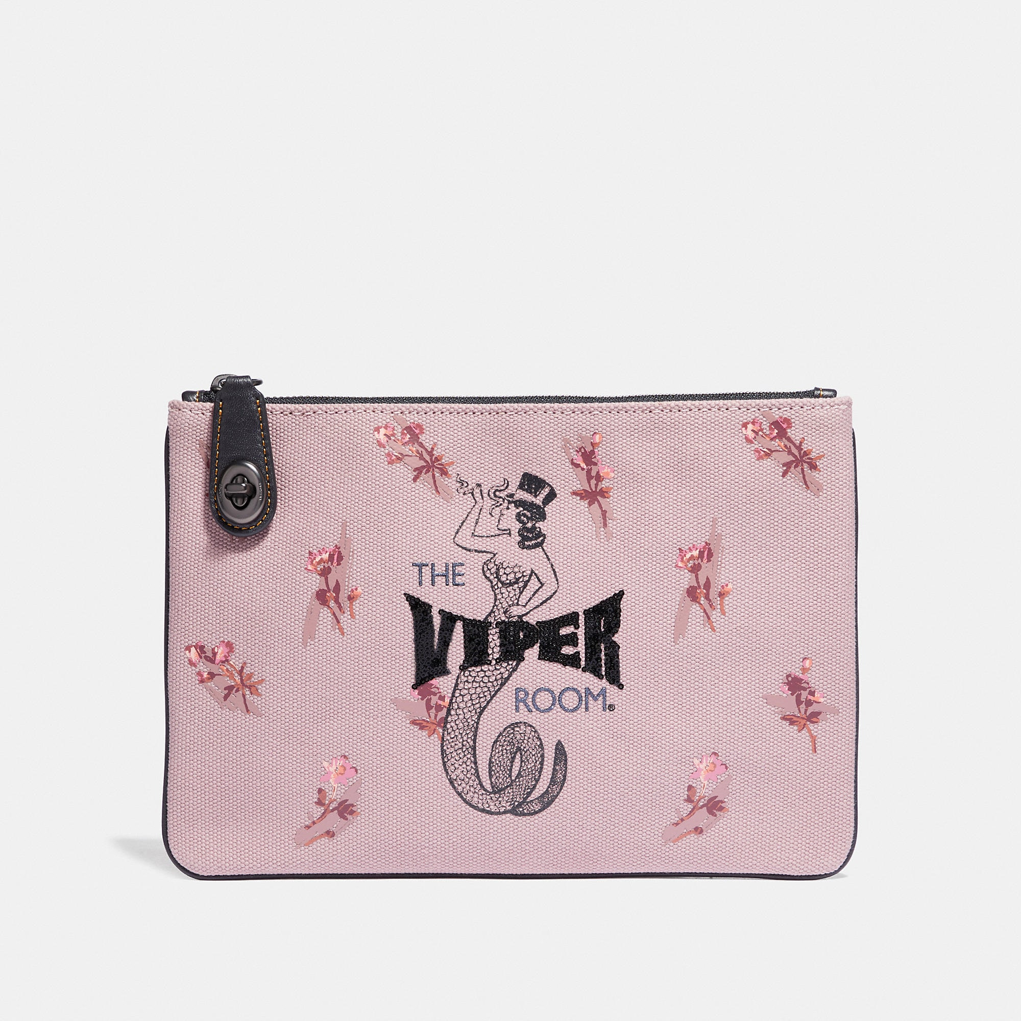 Coach Viper Room Turnlock Pouch 26