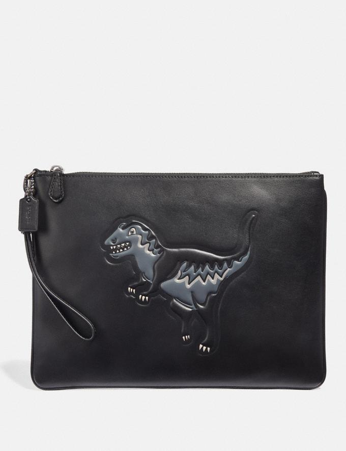 Coach Pouch 30 With Rexy Black Gifts For Him Valentine's Day Gifts