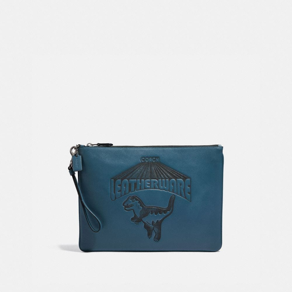 Coach Pouch 30 With Super Rexy