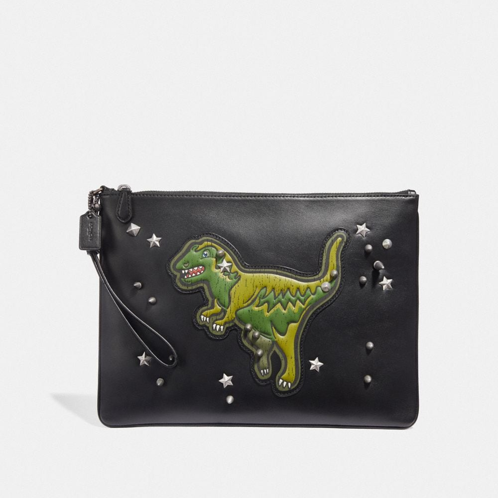 Coach Pouch 30 With Rexy