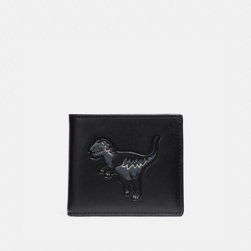 Coach Double Billfold Wallet With Rexy