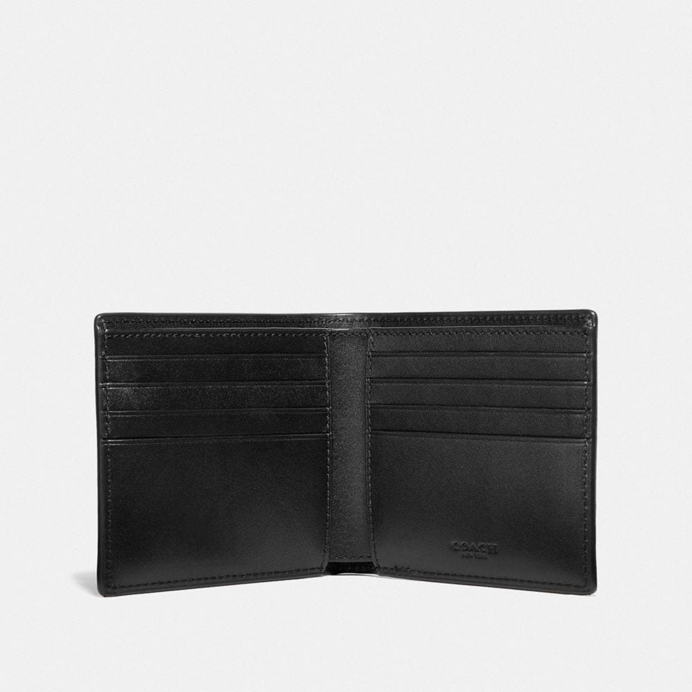 Coach Double Billfold Wallet With Rexy Alternate View 1