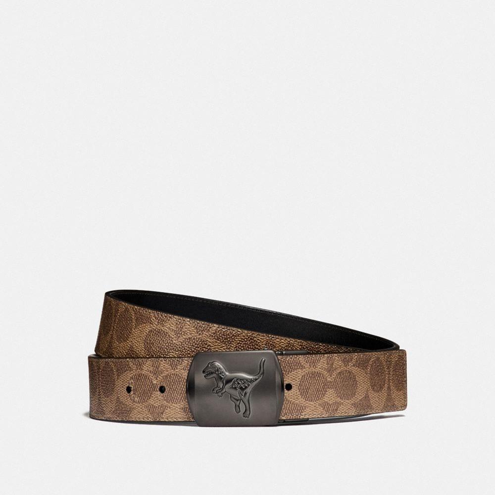 Coach Rexy Signature Cut-To-Size Reversible Belt