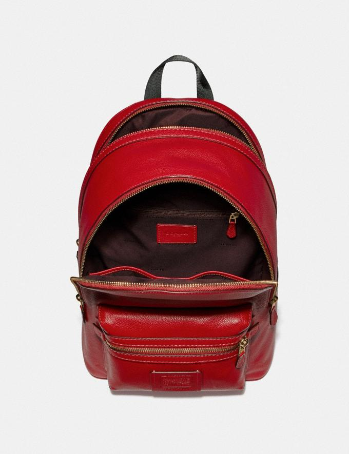 Coach Academy Backpack Jasper/Old Brass SALE Men's Sale Alternate View 2