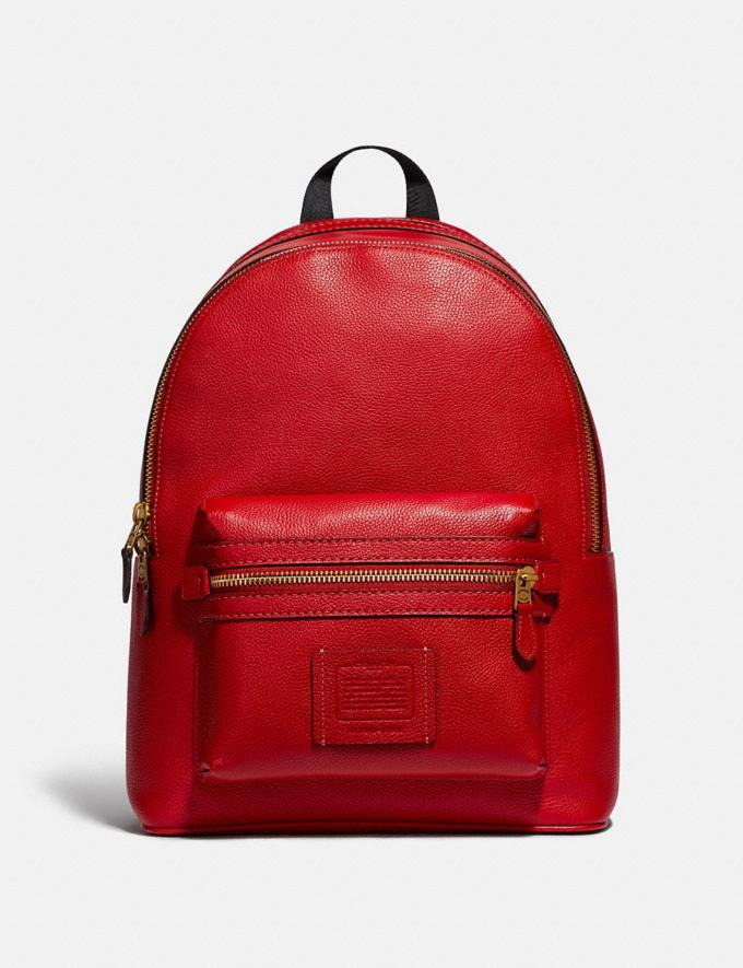 Coach Academy Backpack Jasper/Old Brass SALE Men's Sale