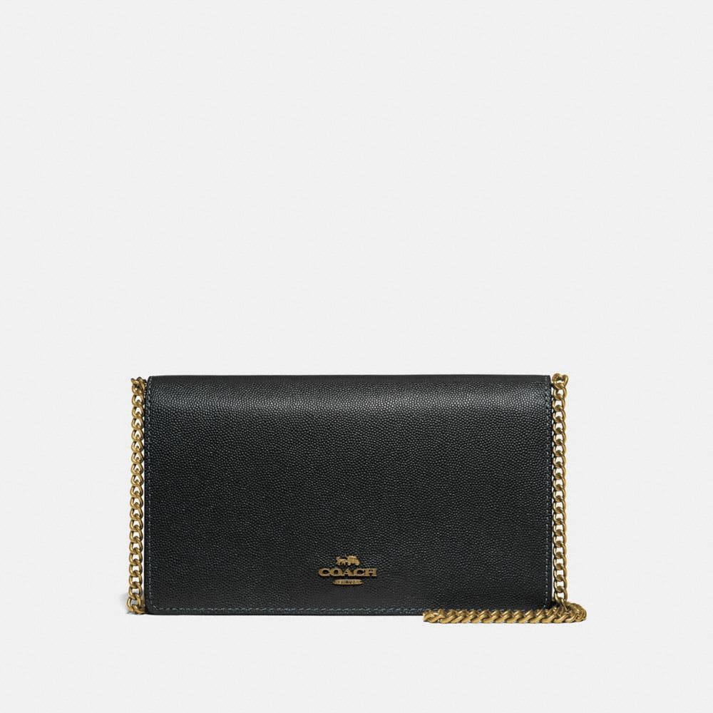 CALLIE FOLDOVER CHAIN CLUTCH