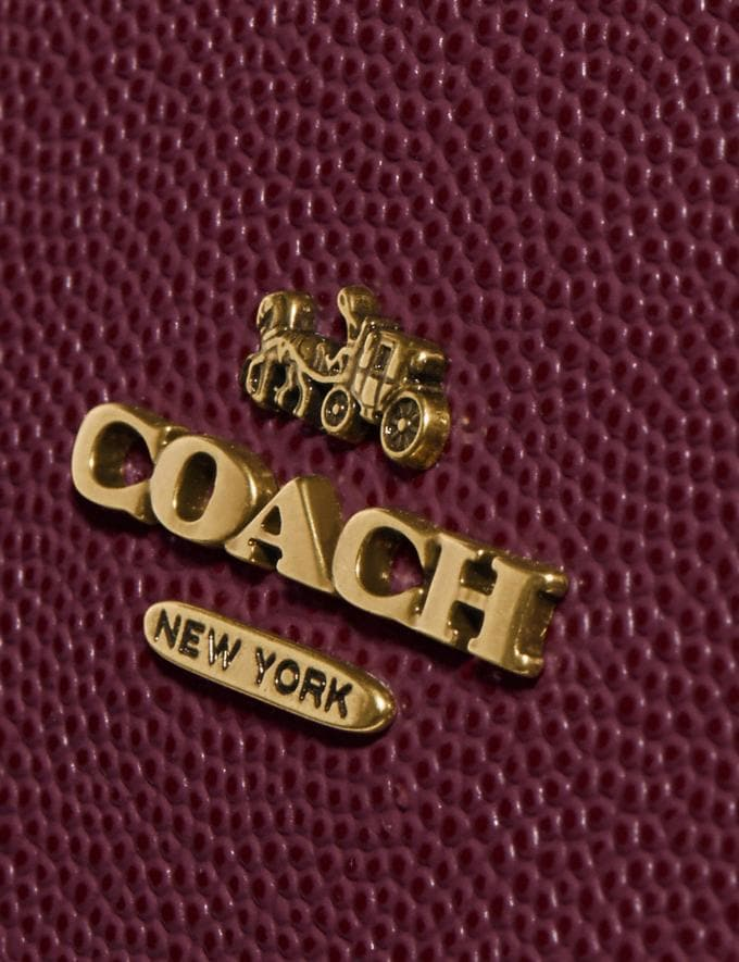 Coach Callie Foldover Chain Clutch Vintage Mauve/Brass DEFAULT_CATEGORY Alternate View 4
