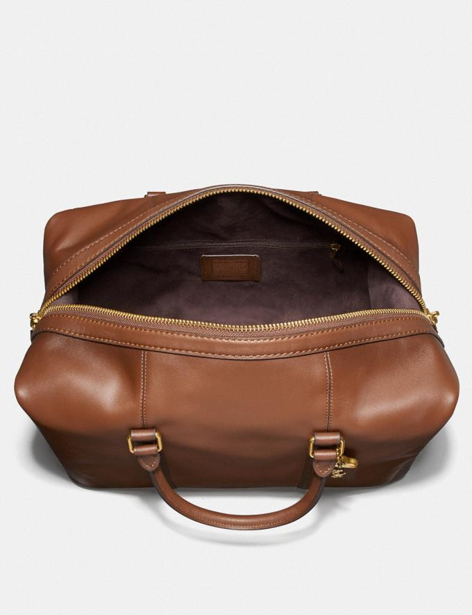 Coach Metropolitan Duffle Saddle/Brass  Alternate View 2
