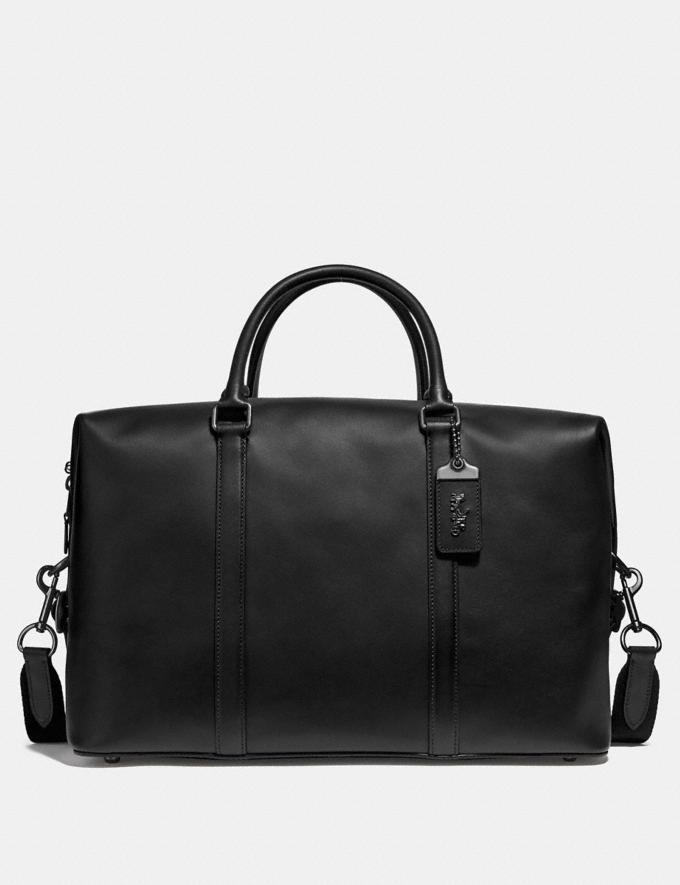 Coach Metropolitan Duffle Black/Black Copper Cyber Monday For Him Cyber Monday Sale