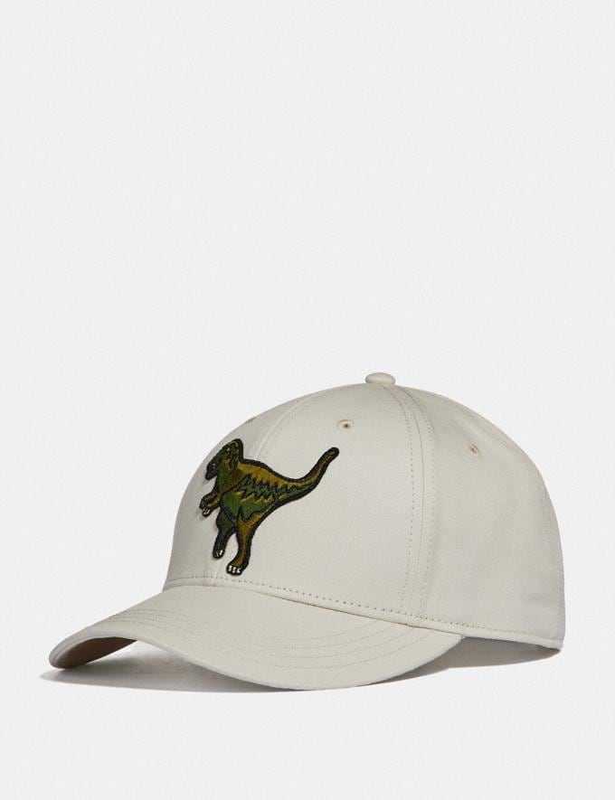 Coach Rexy Baseball Cap Chalk Men Ready-to-Wear Tops & Bottoms