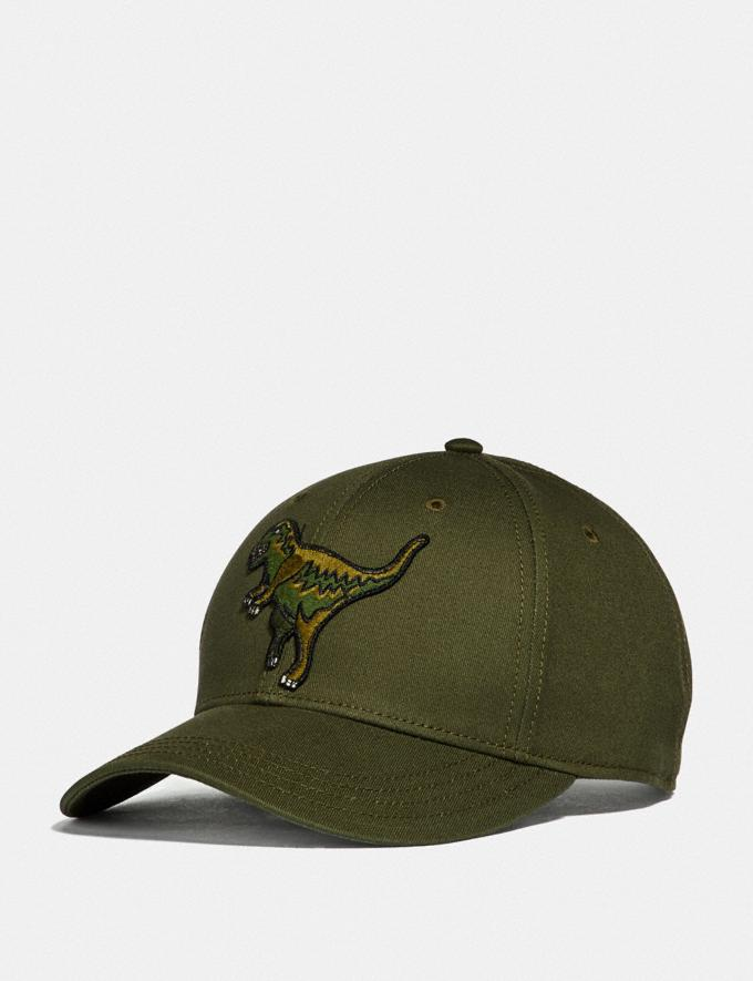 Coach Rexy Baseball Cap Rexy Green New Featured Rexy Collection