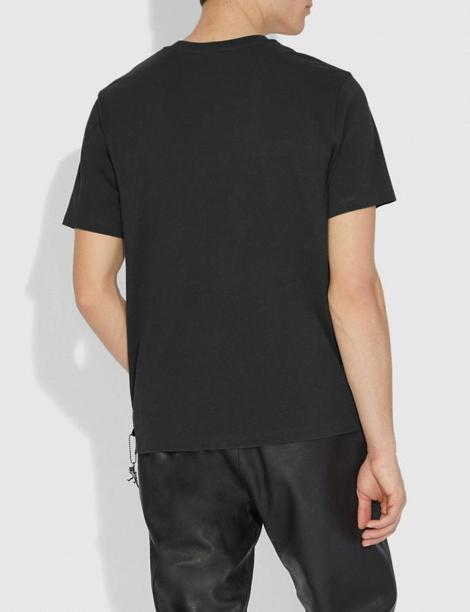Coach Rexy T-Shirt Black Men Ready-to-Wear Tops & Bottoms Alternate View 2