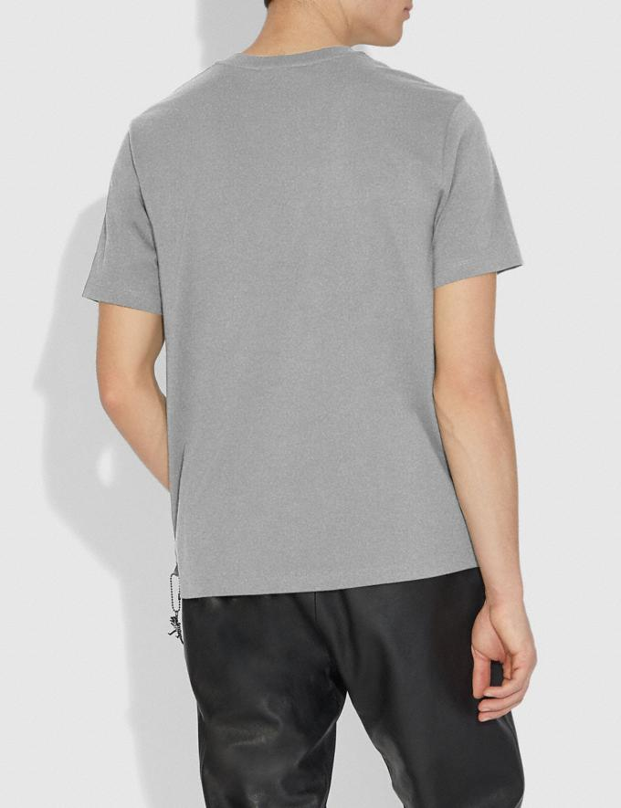 Coach Rexy T-Shirt Heather Grey/Heather Grey Men Ready-to-Wear Tops & Bottoms Alternate View 2