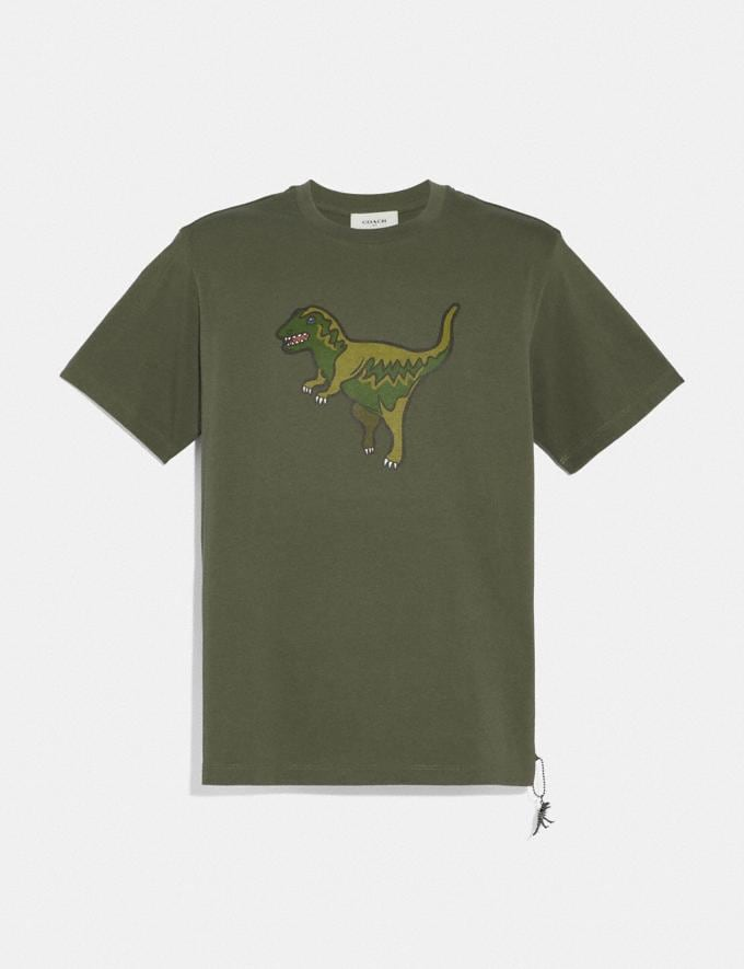 Coach Rexy T-Shirt Rexy Green Men Ready-to-Wear