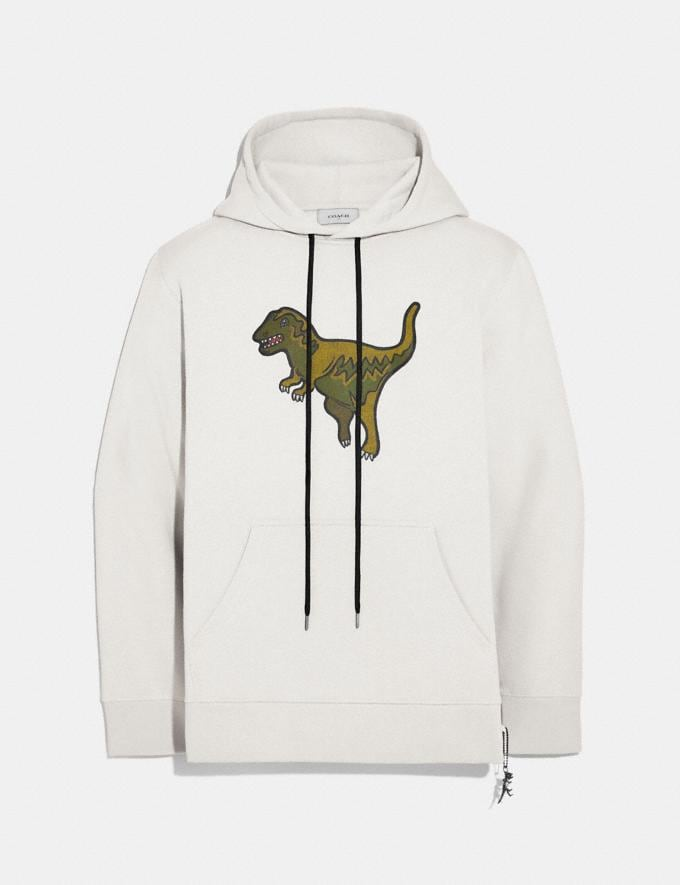 Coach Rexy Hoodie Chalk New Featured Rexy Collection