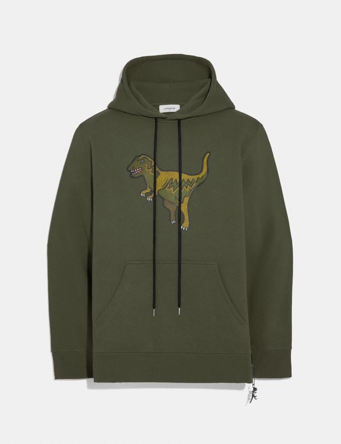 Coach Rexy Hoodie Rexy Green Men Ready-to-Wear