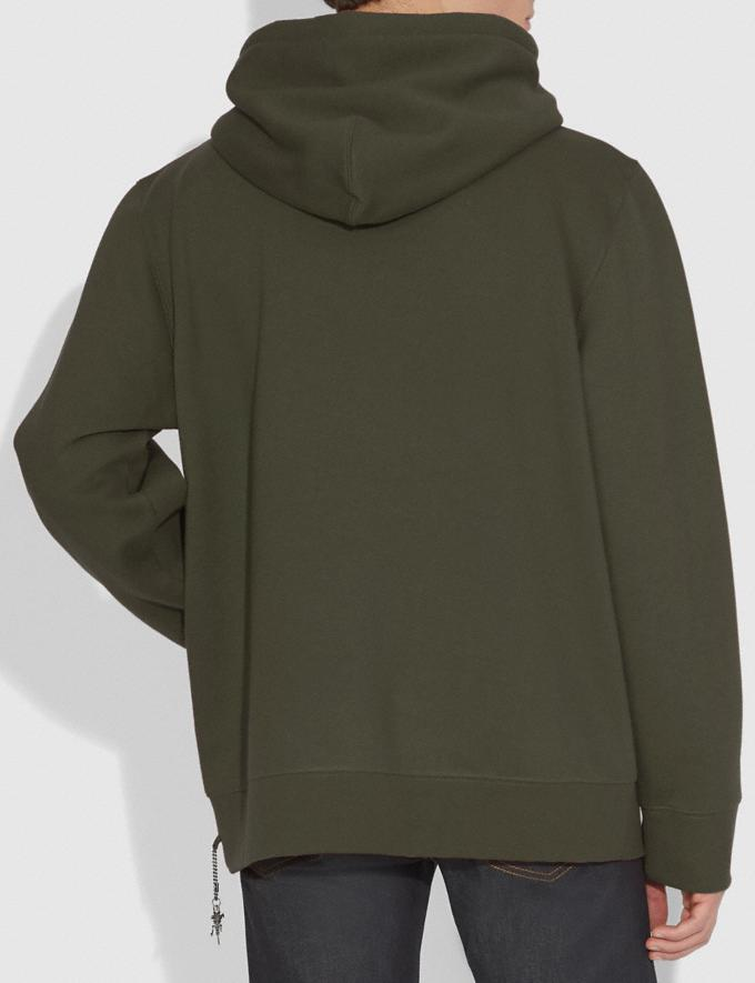 Coach Rexy Hoodie Rexy Green Men Ready-to-Wear Tops & Bottoms Alternate View 2